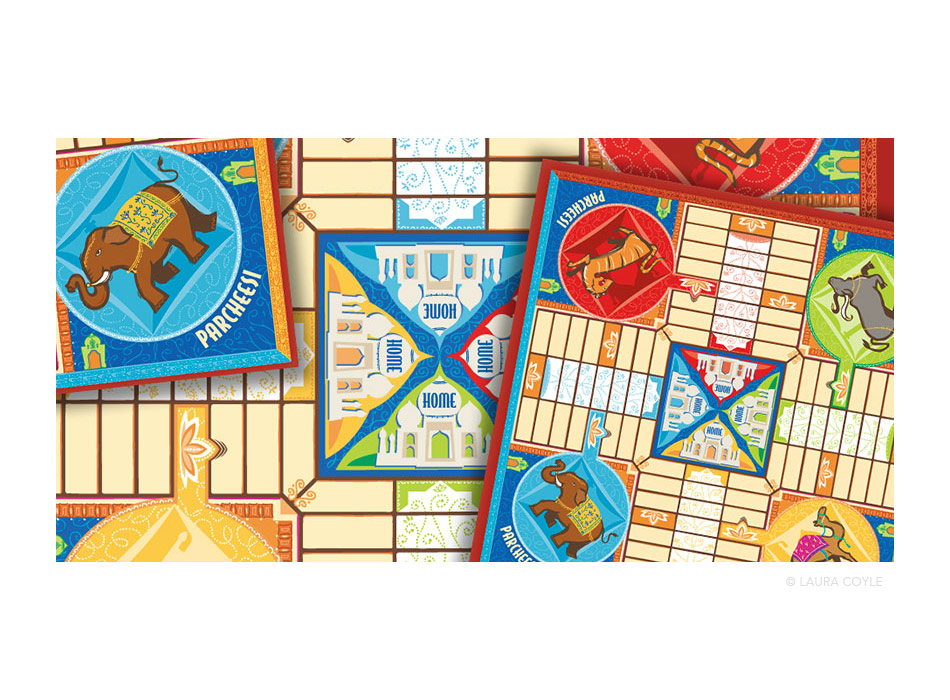 Parcheesi Game Board
