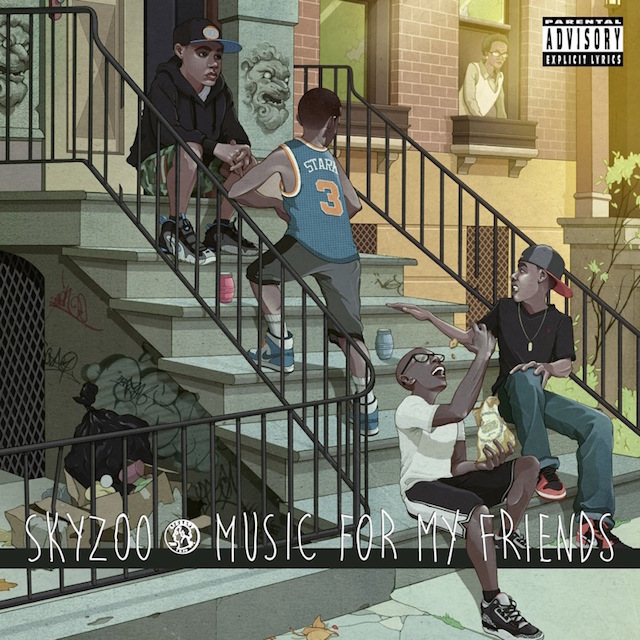 Artist:  Skyzoo   Album:  Music For My Friends