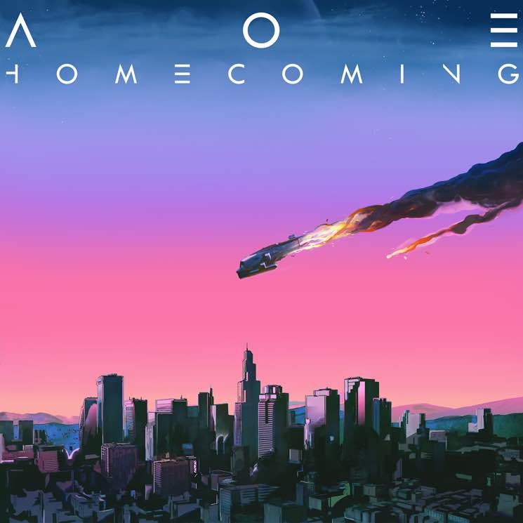 ARTIST:  AOE (Ambassadors of Earth)   ALBUM:  Homecoming