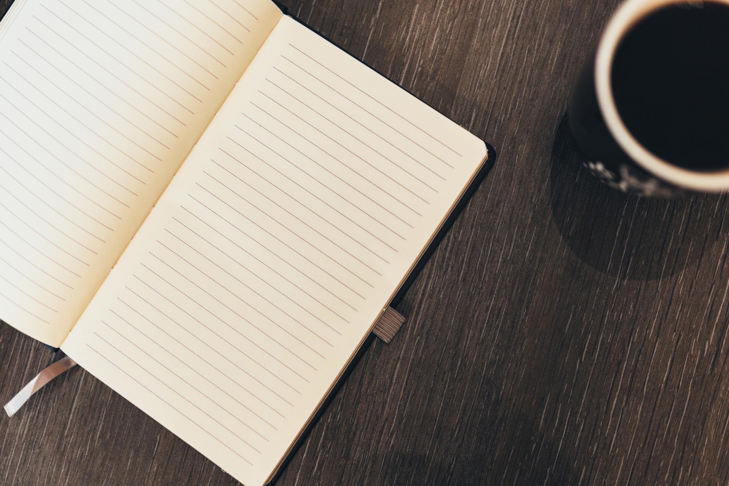 Morning Rituals Coffee Journal