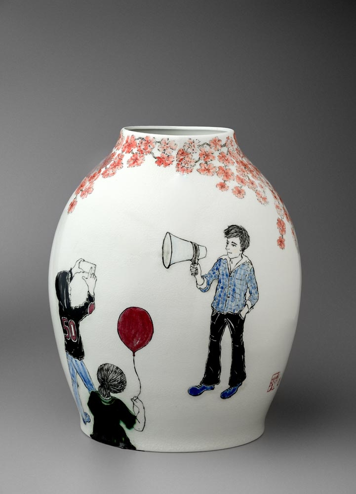 Vase commissioned for Sir Jonathan Ive(CDO of Apple) for his 50th Birthday