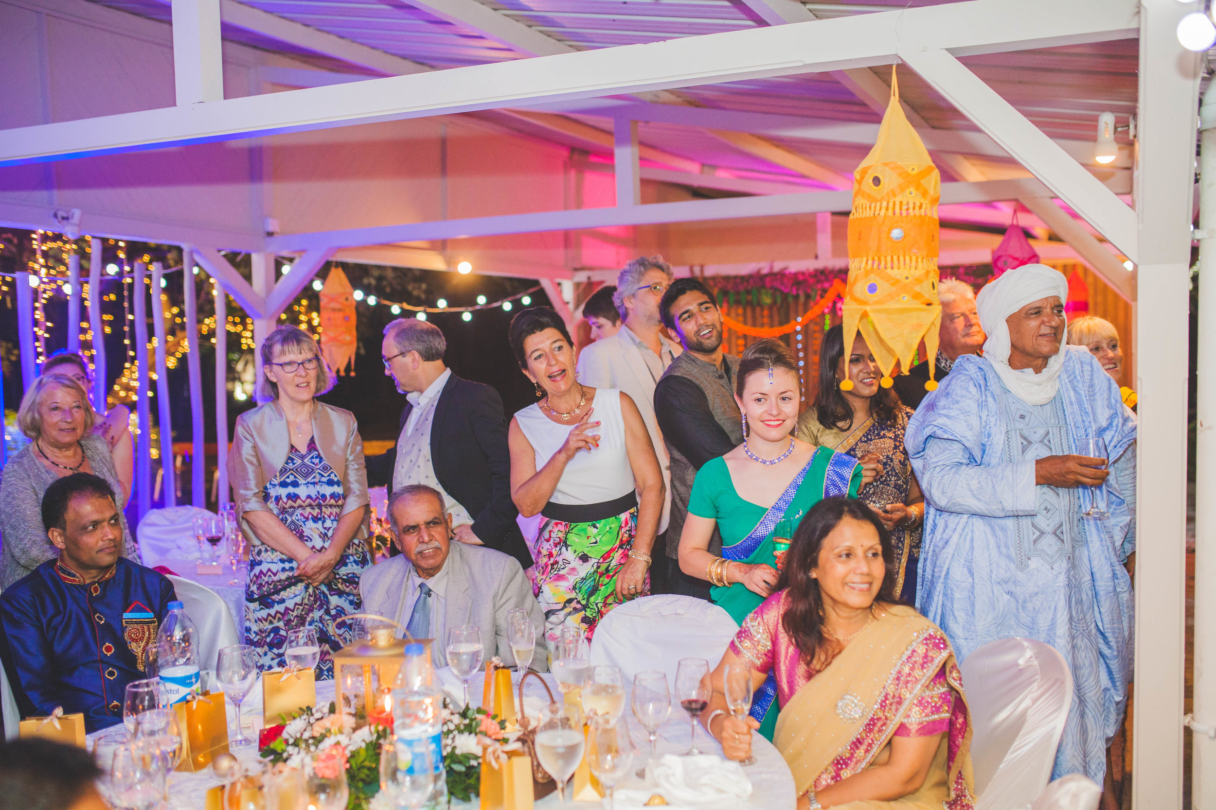 Wedding Reception in Mauritius