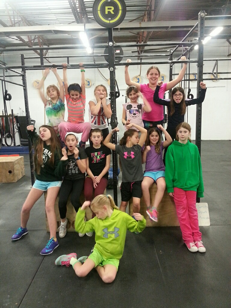 Awesome job to our CrossFit Kids who wrapped up an awesome program today