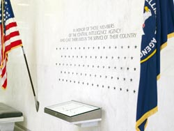 A suicide bomber  killed seven CIA officers  and one Jordanian officer at a remote base in southeastern Afghanistan on December 30, 2009 after posing as a potential informant reporting on Al Qaeda. Seven new stars will be etched onto the memorial wall at the CIA where every star represents grieving friends, family and colleagues dedicated to fight against the enemy, forever in their name.  Killed in the attack were CIA officers Jennifer Lynne Matthews, 45; Scott Michael Roberson, 39; Harold E. Brown Jr., 37; Darren LaBonte, 35; Elizabeth Hanson, 30; and security contractors Jeremy Jason Wise, 35, and Dane Clark Paresi, 46.   Read more about them @ New York Times