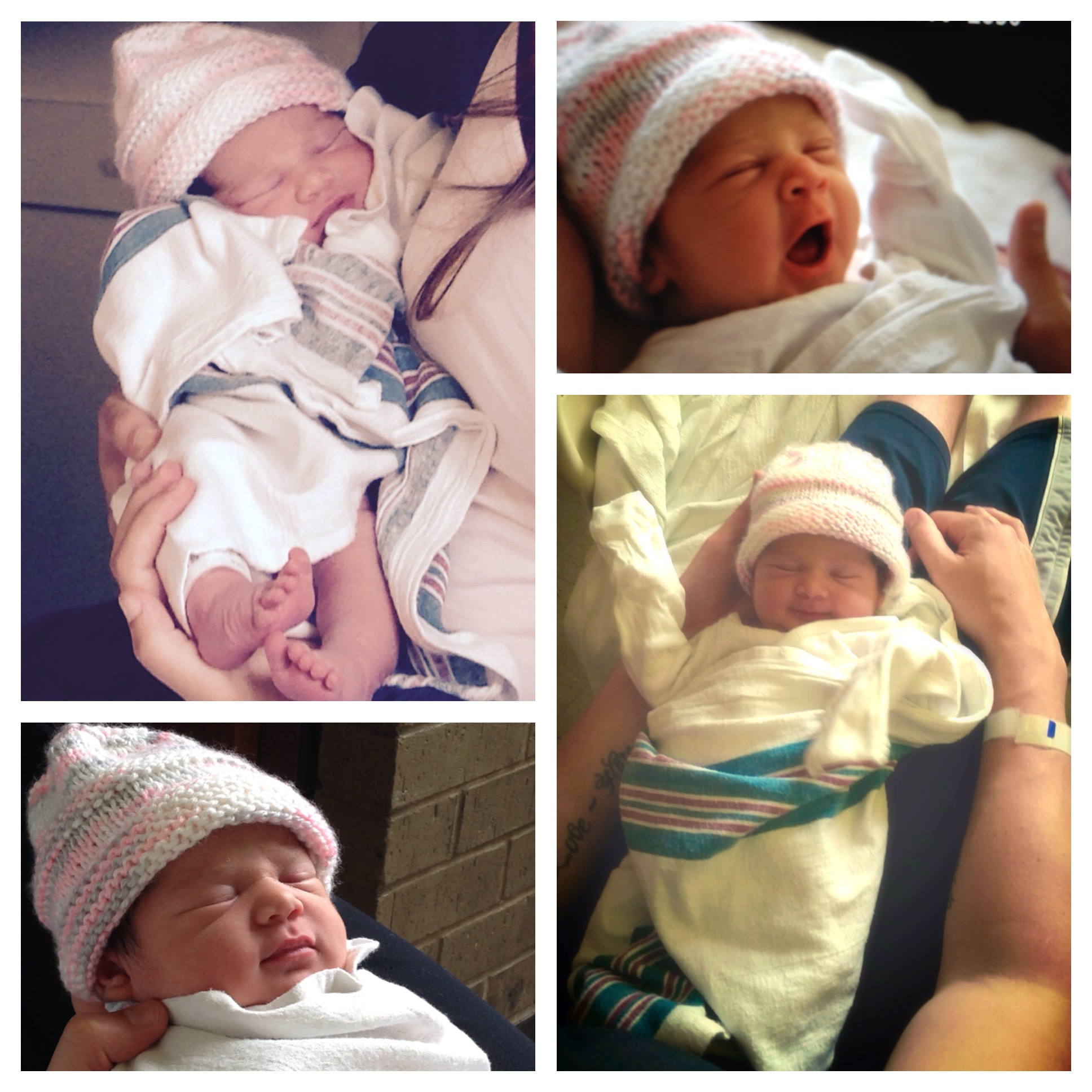 Gina and Matt had their baby today! Welcome to the partyEmma Rose -- 8.2 lb and 20 inches