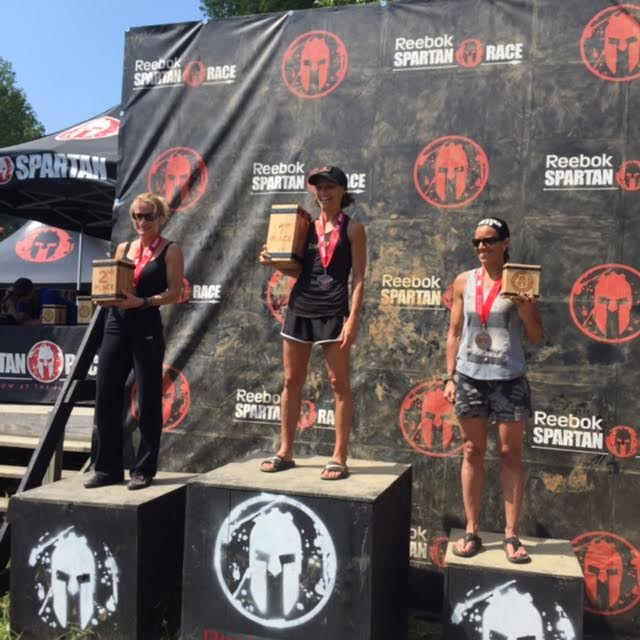 Randi took another Spartan Race podium!  3rd place in the masters elite division!