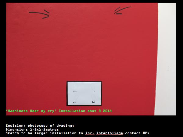 'Hashimoto Hear my cry!' Installation shot.jpeg