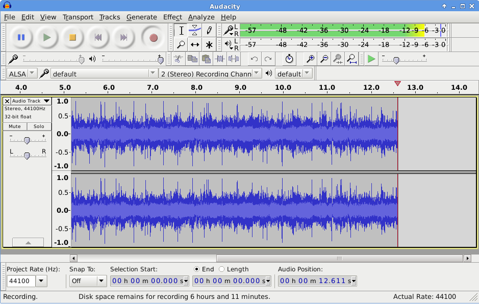 Click here to download Audacity