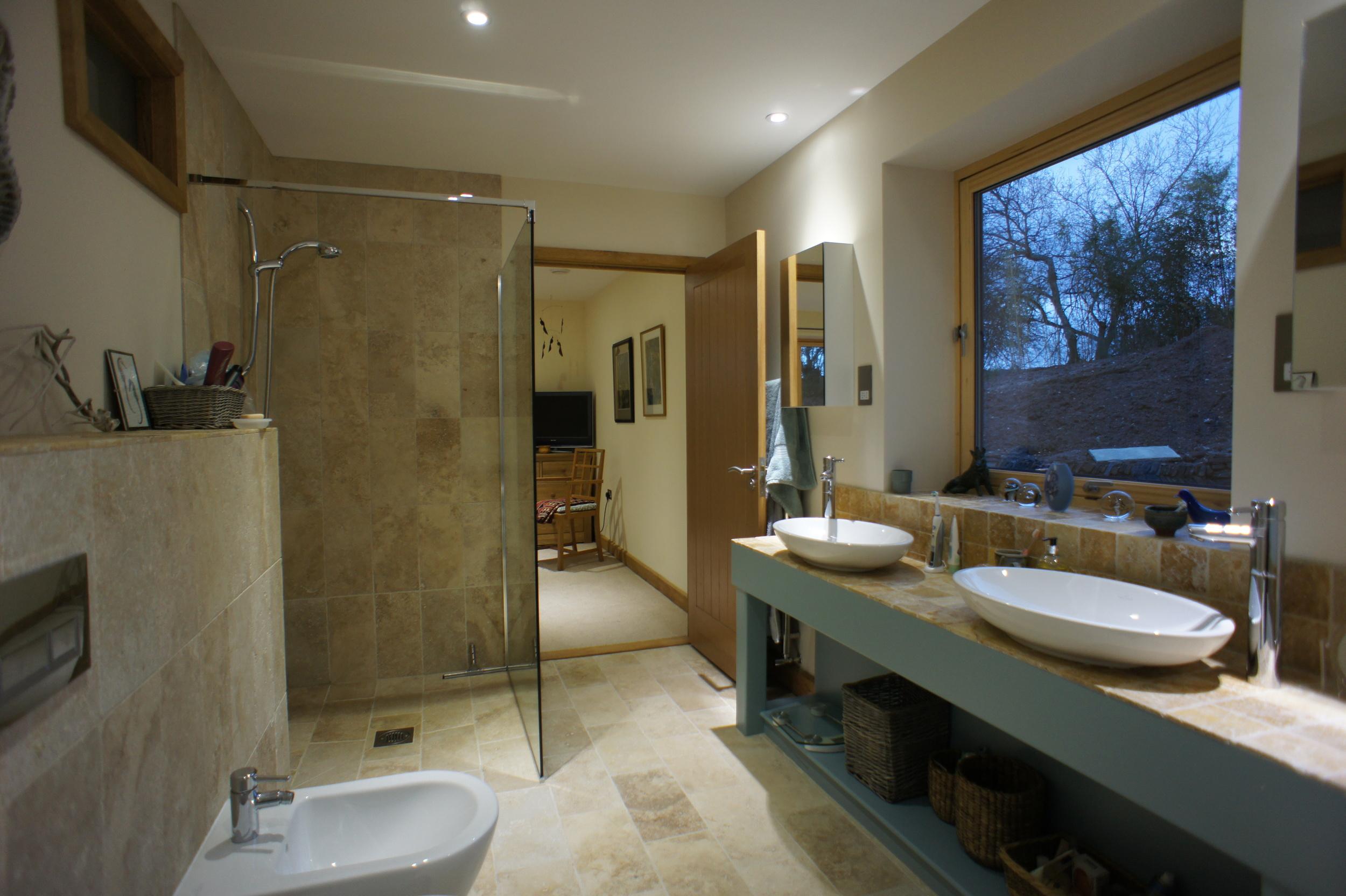 New Build Cornwall - Bathroom