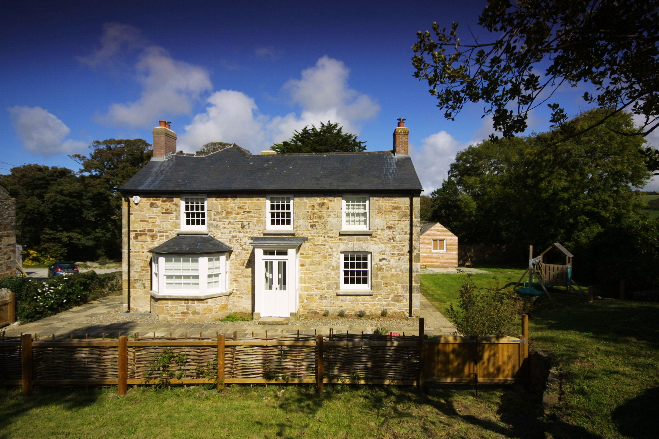 Farmhouse renovation in Cornwall