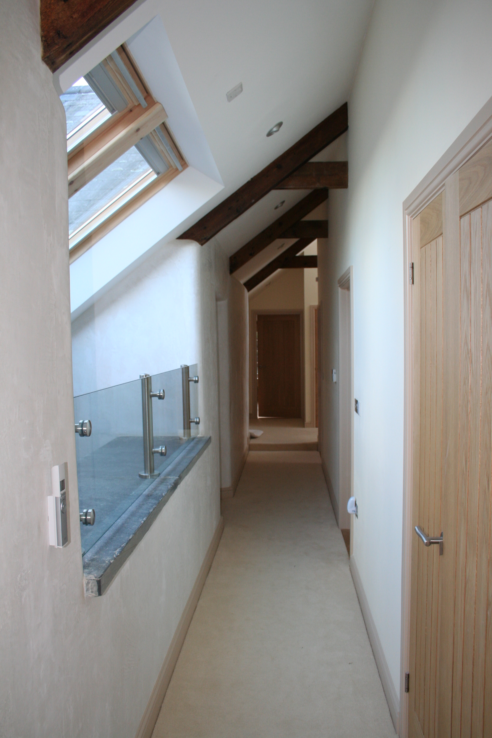 Renovation in Cornwall - Landing