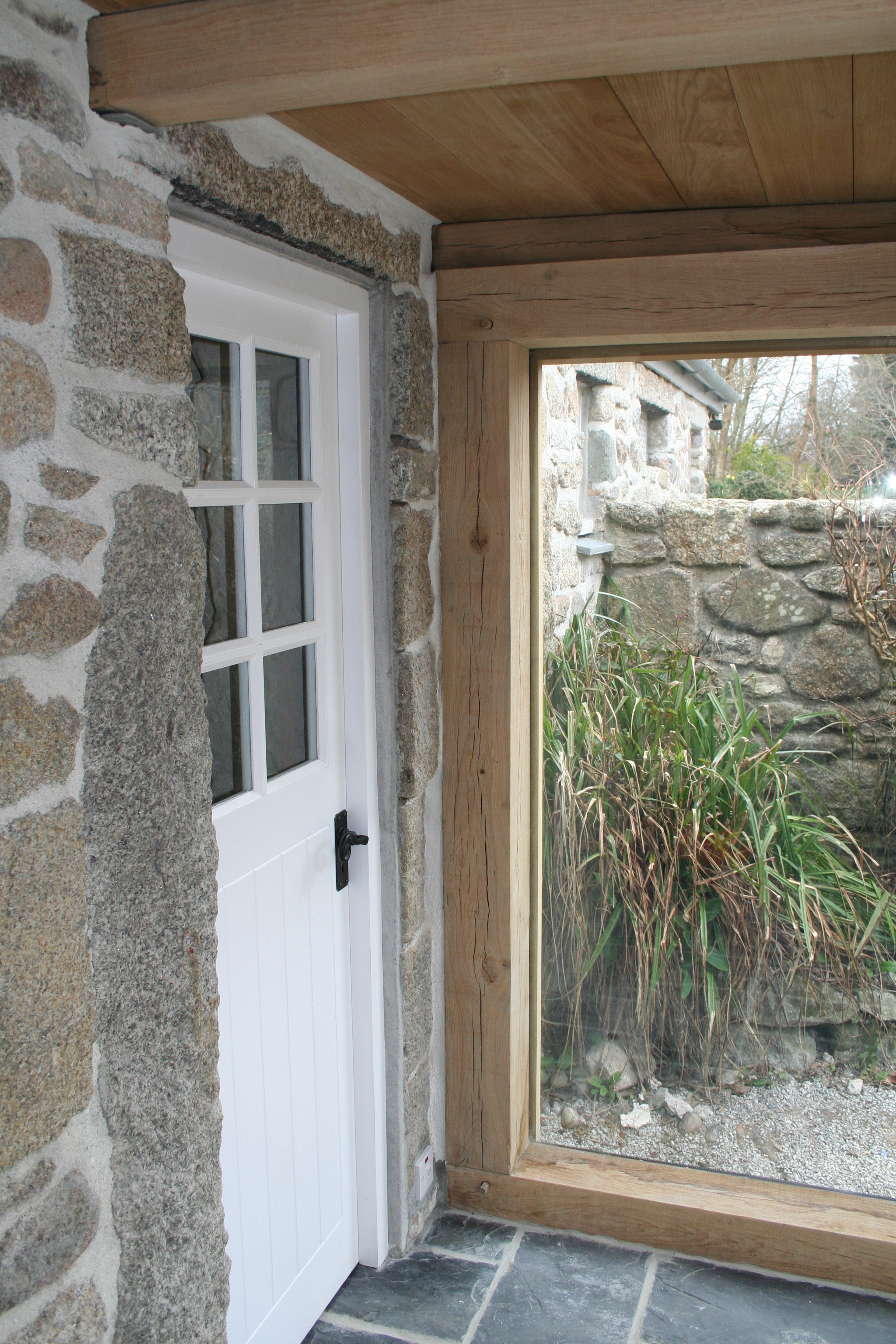 Extension in Cornwall - Doorway
