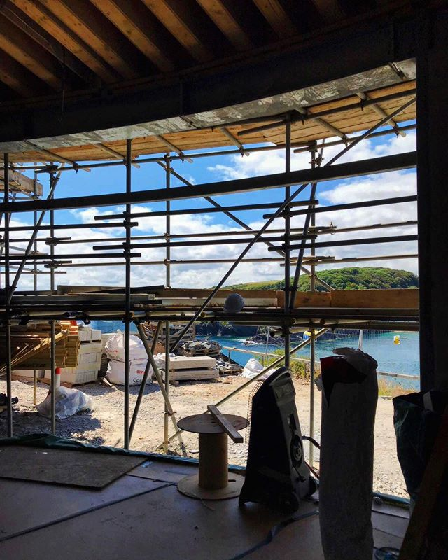 Hello Friday, is that you behind the scaffold? Phenomenal views from a current project, especially on a day like today. Have a wonderful weekend whatever your plans may be! . #perringproperties #building #builders #views #scaffolding #scaffoldinglife #scaffoldingviews #seaside #sea #vitaminsea #cornwall #kernow #kernofornia #kernowlife #cornwalllife #construction #property #propertydevelopers #propertydevelopment #tools #onthetools #home #renovation #newbuild #extension #house #cornwallbuilders #blueskies