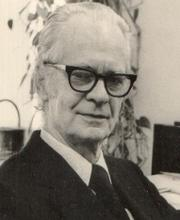 B.F. Skinner from Harvard's Department of Psychology