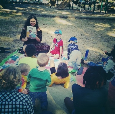 Social Justice Storytime in my hometown of Little Rock, Arkansas