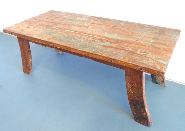 RUSTIC MARINA COFFEE TABLE