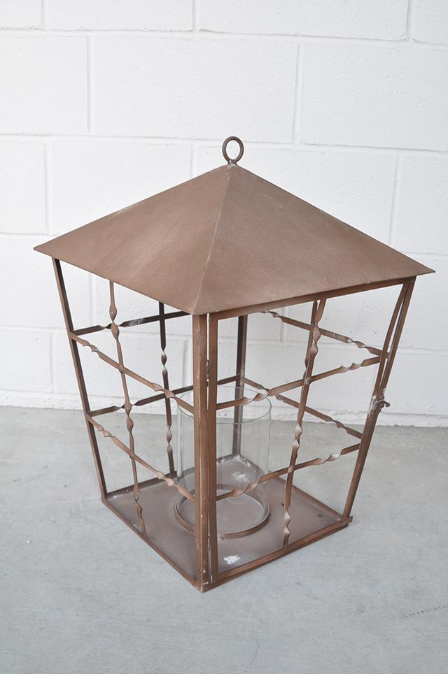 XL Rusted Lantern