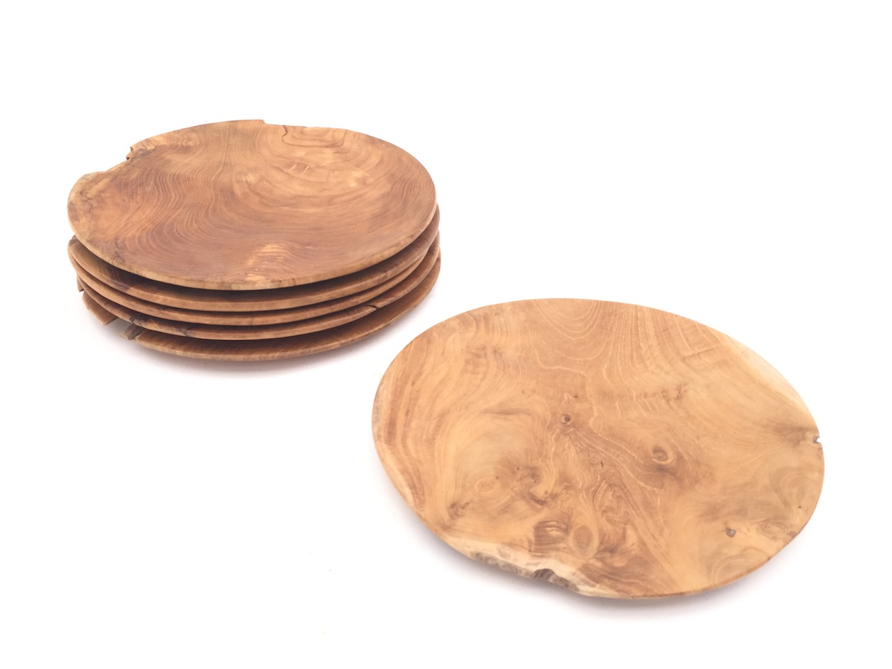 Teak Chargers