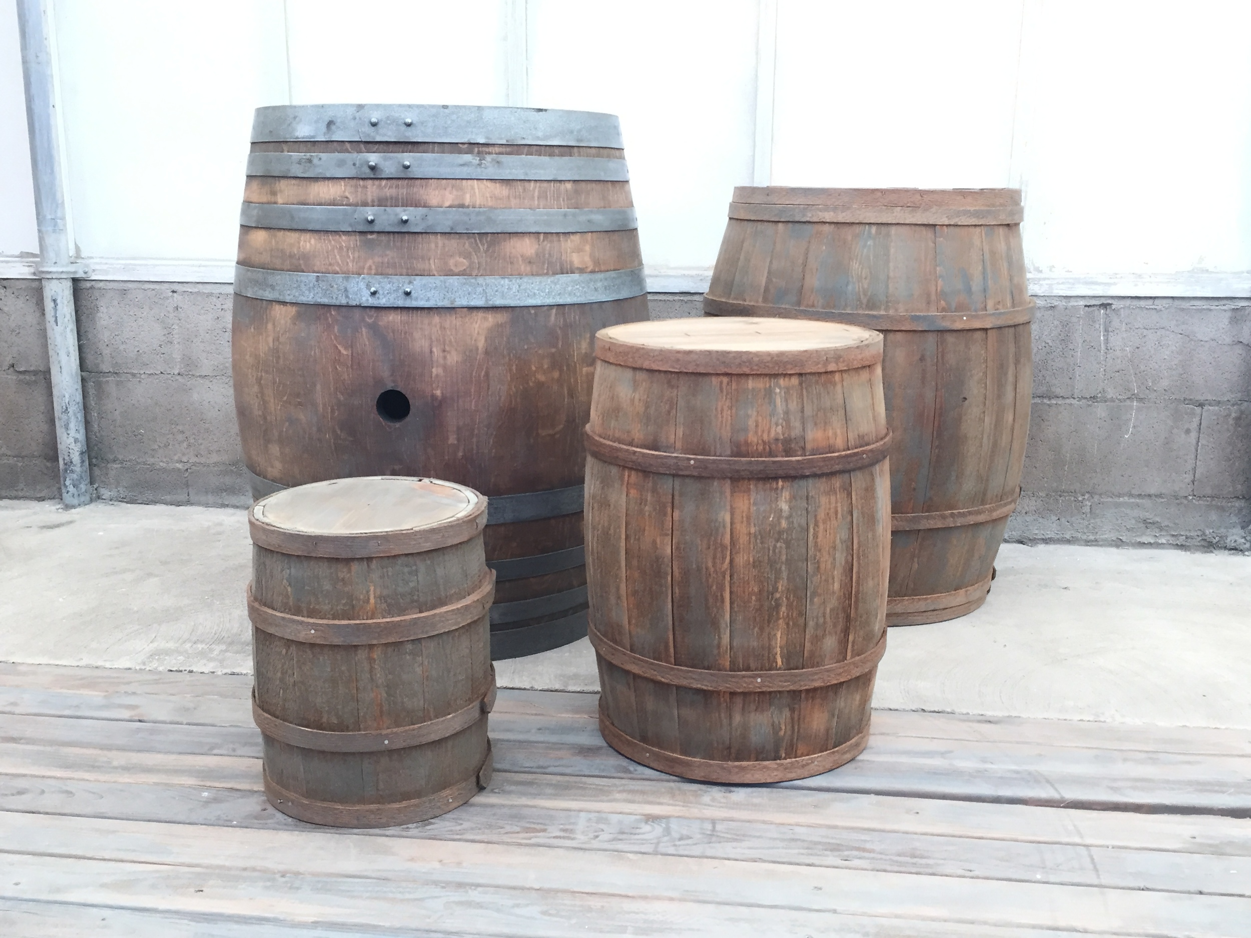 Weathered Barrel Collection