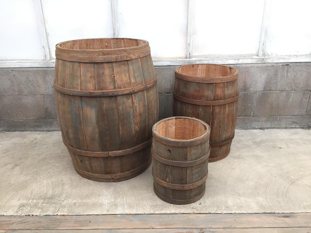 Barrel Vessels