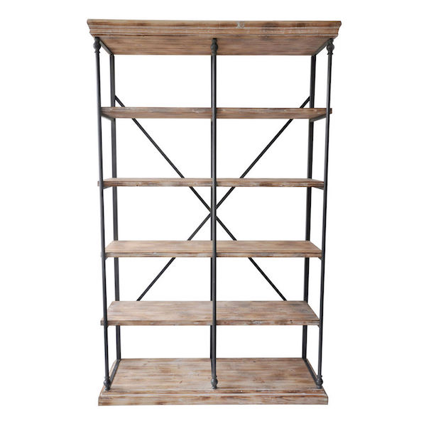 Saddle Bookcase