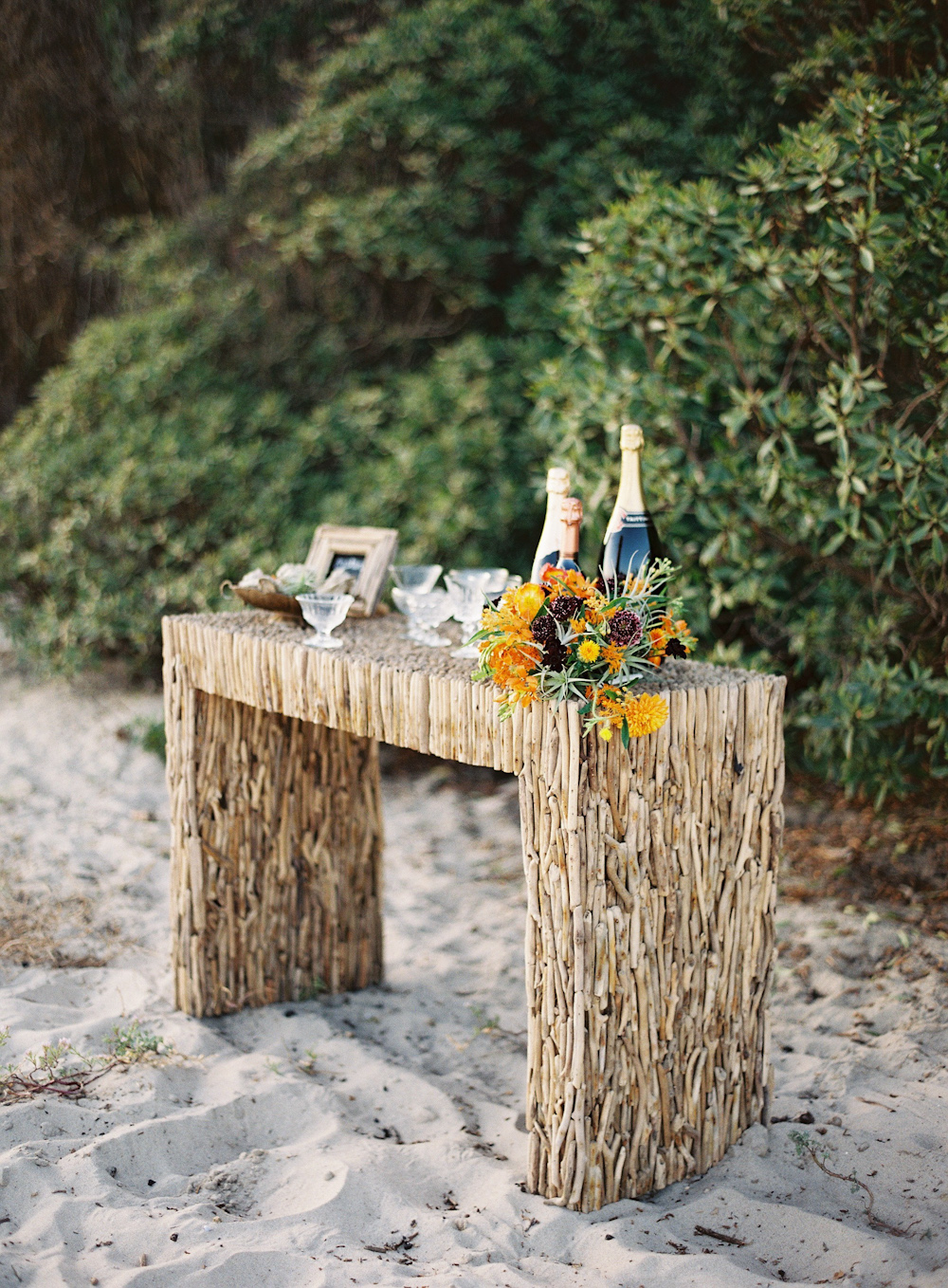 Creekside Driftwood Console