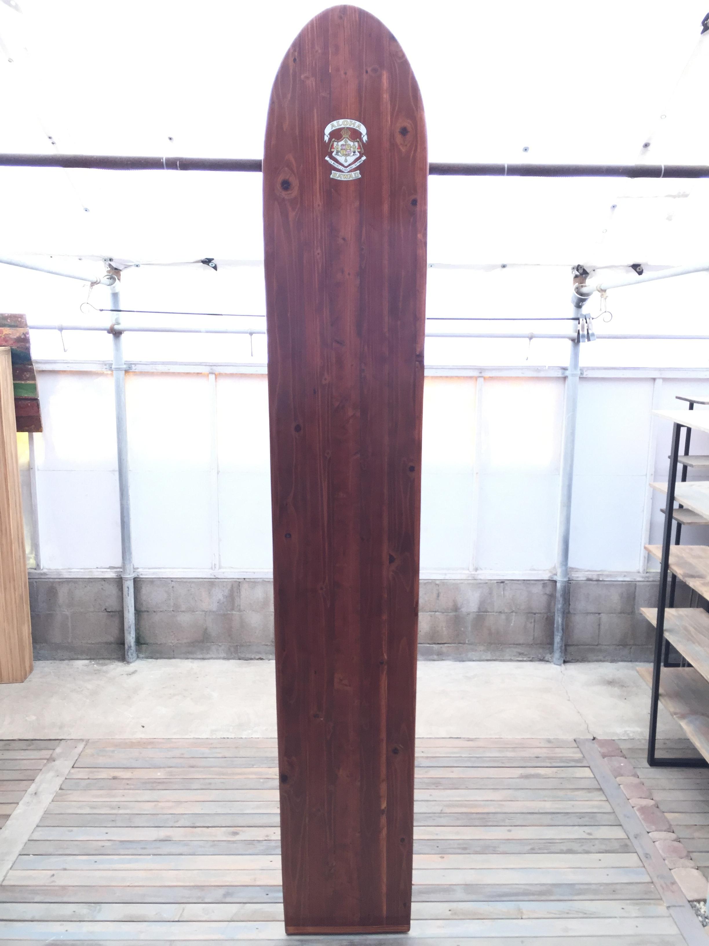 Hawaiian Redwood Surfboard