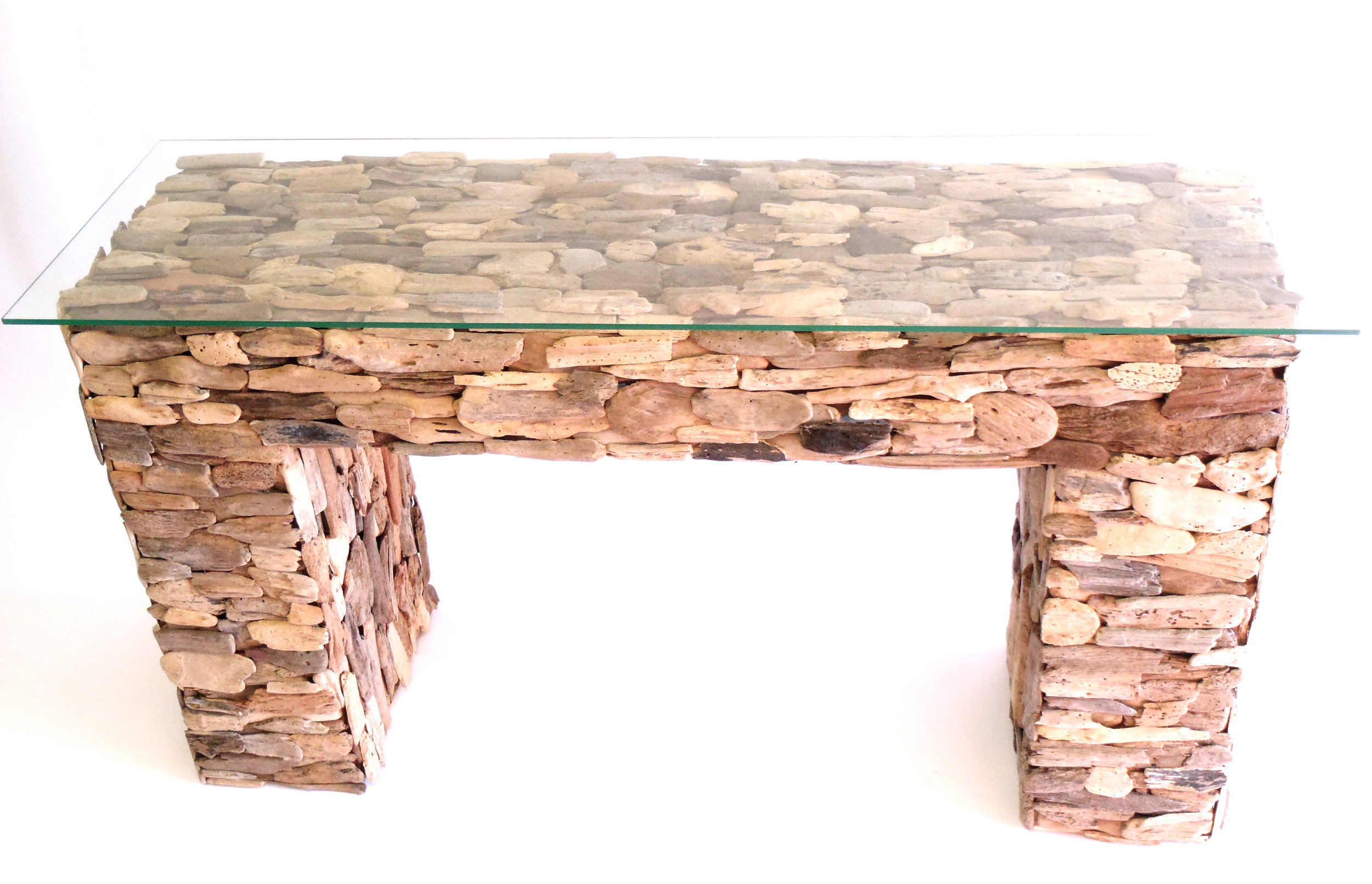 Loon Driftwood Console