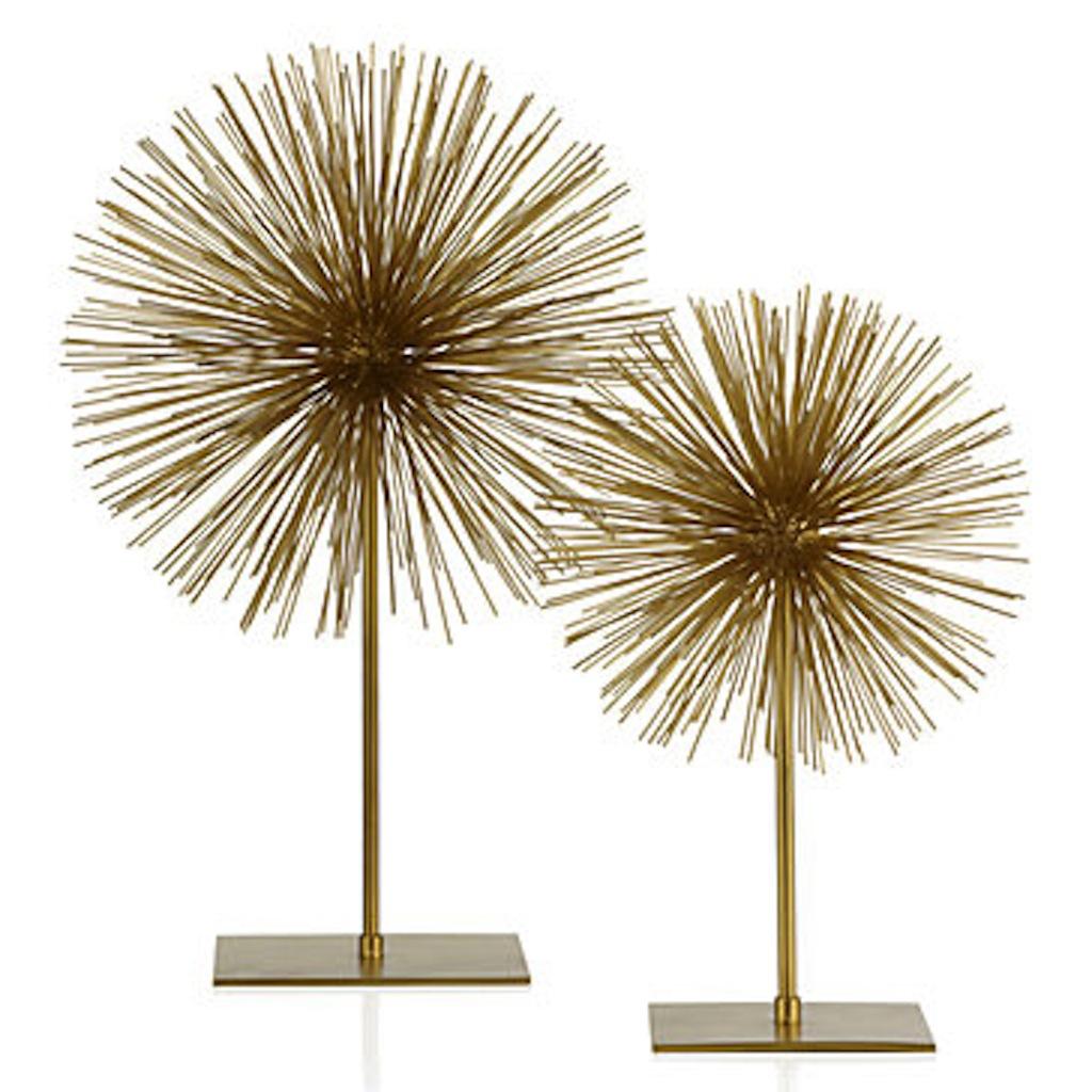 Metallic Urchin w Stand