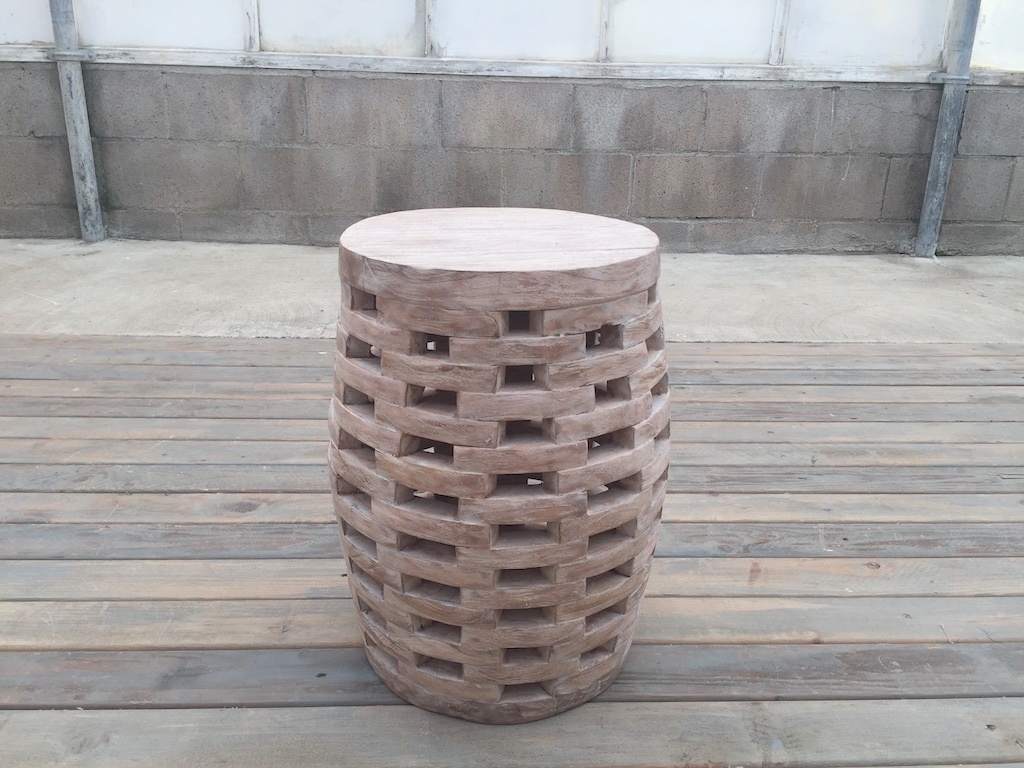 WEATHERED HIVE TABLE