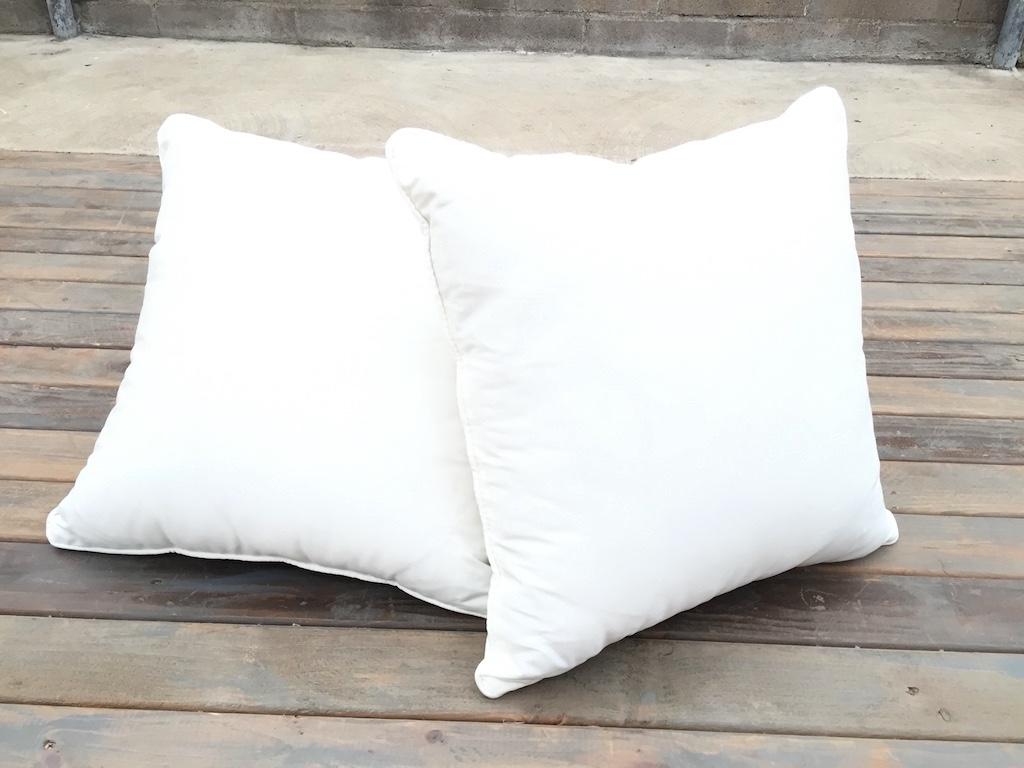 Simple White Pillow