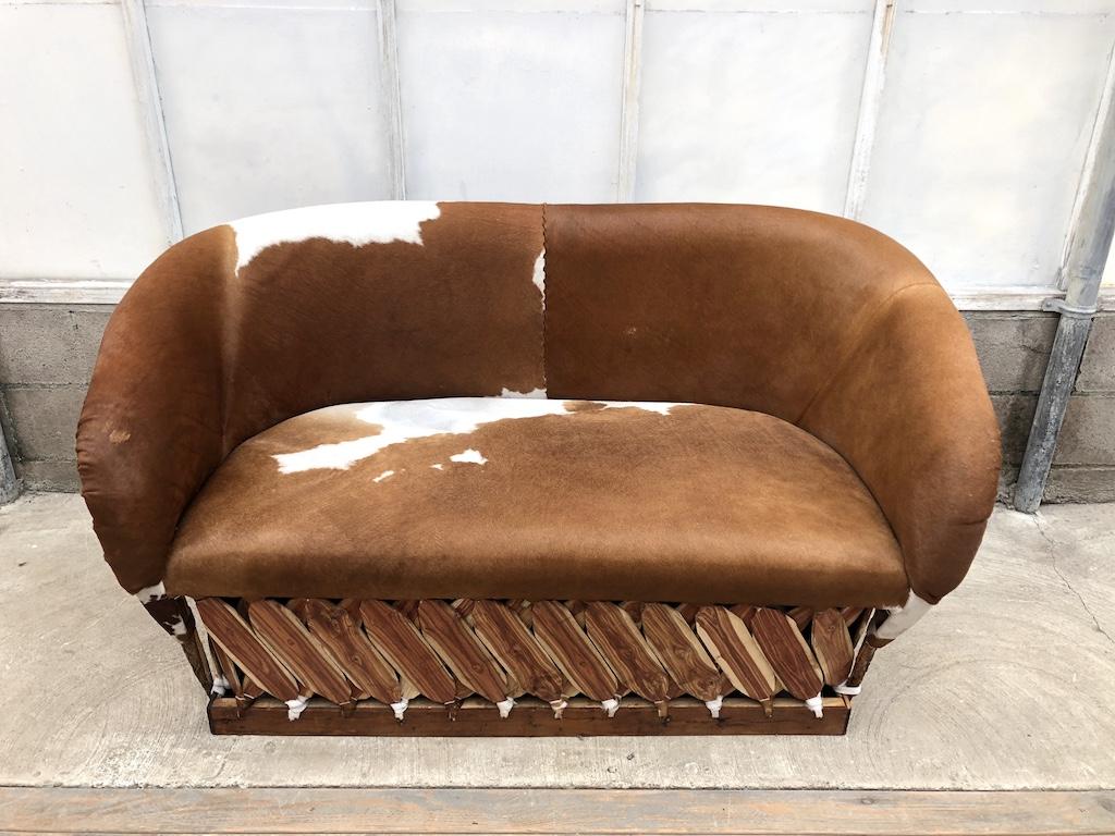Md Cow Hide Sofa