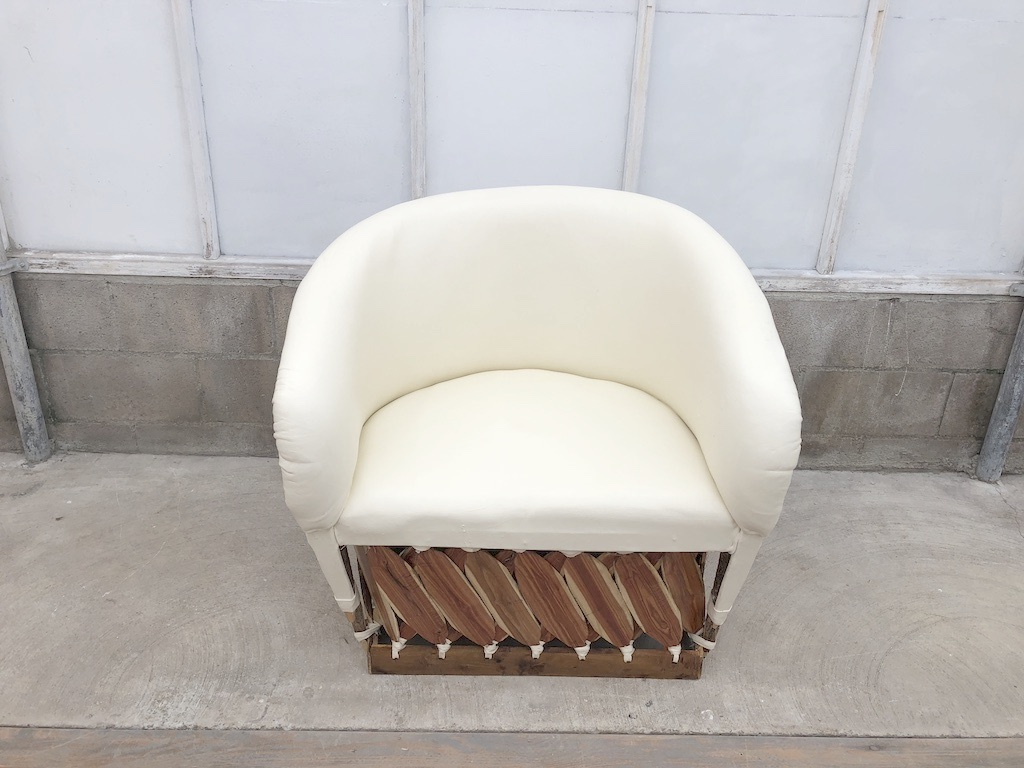 Ivory Lounge Chair