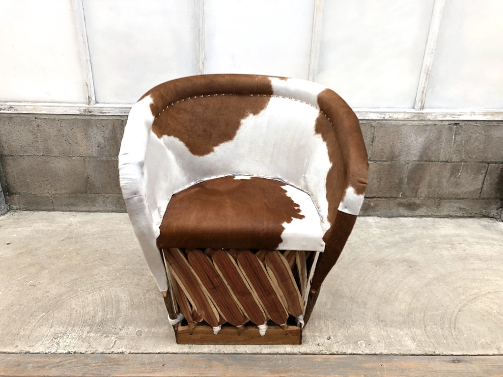 Cow Hyde Traditional Chair