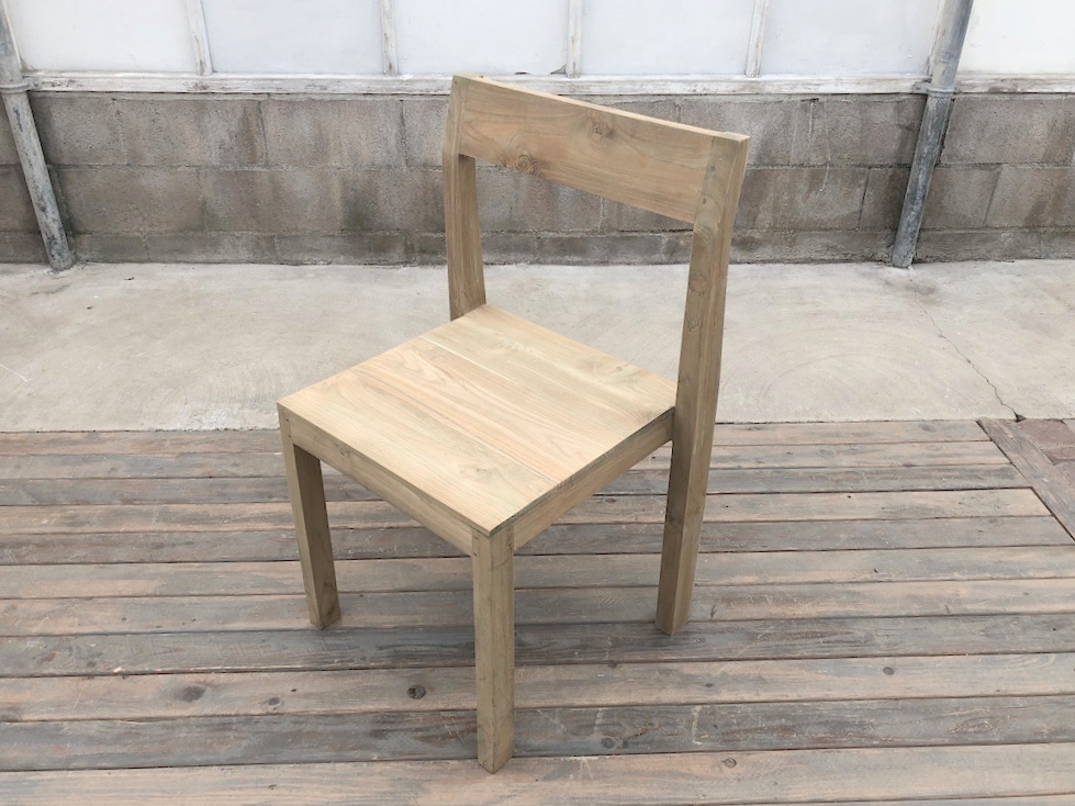 Weathered Dining Chair with out Cushion