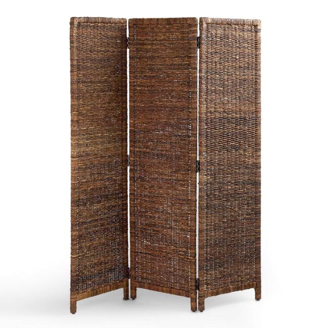 3 Panel Woven Divider