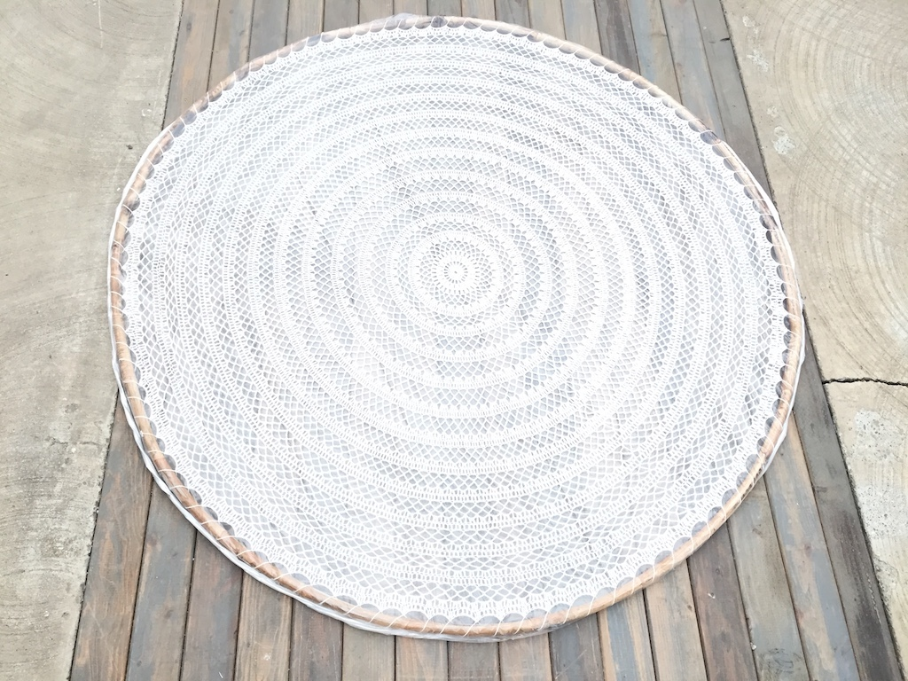 Giant Macrame Disc