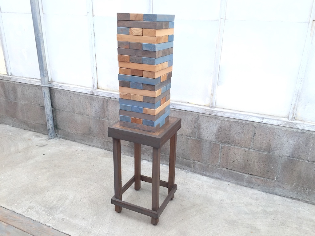 XL Jenga with Table
