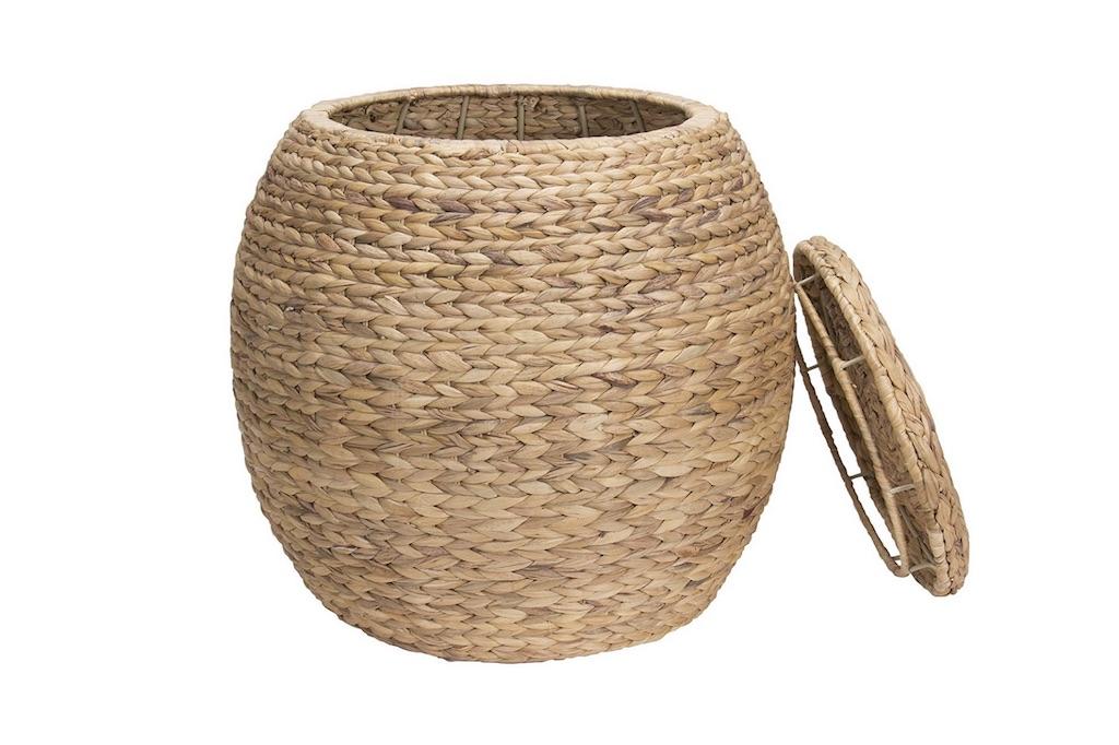Lg Round Woven Basket
