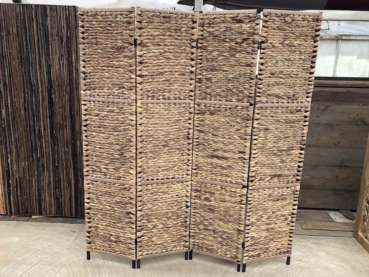 4 Panel Woven Divider