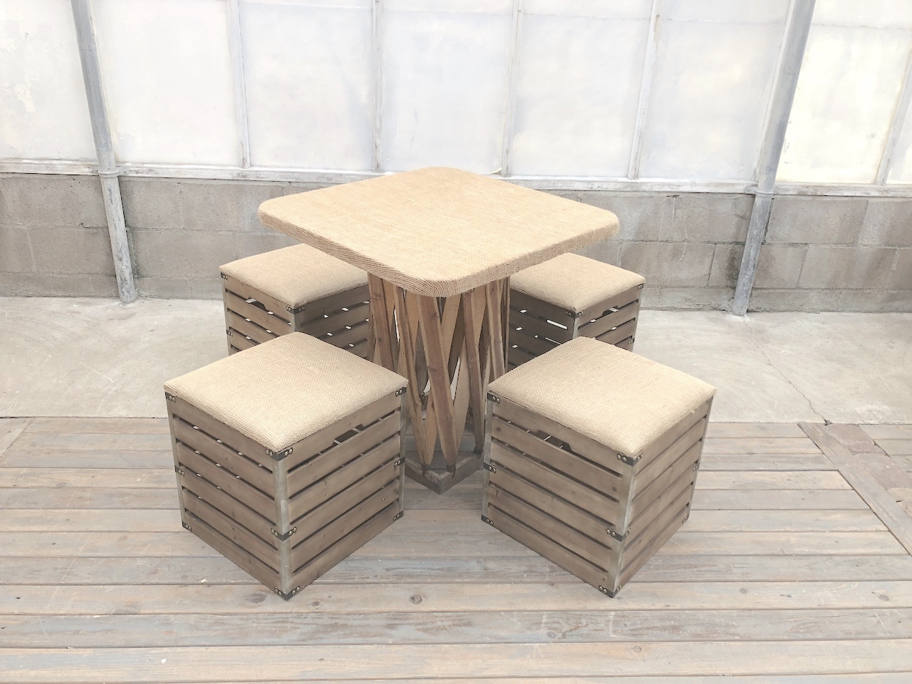 Slatted Stools & Equipales