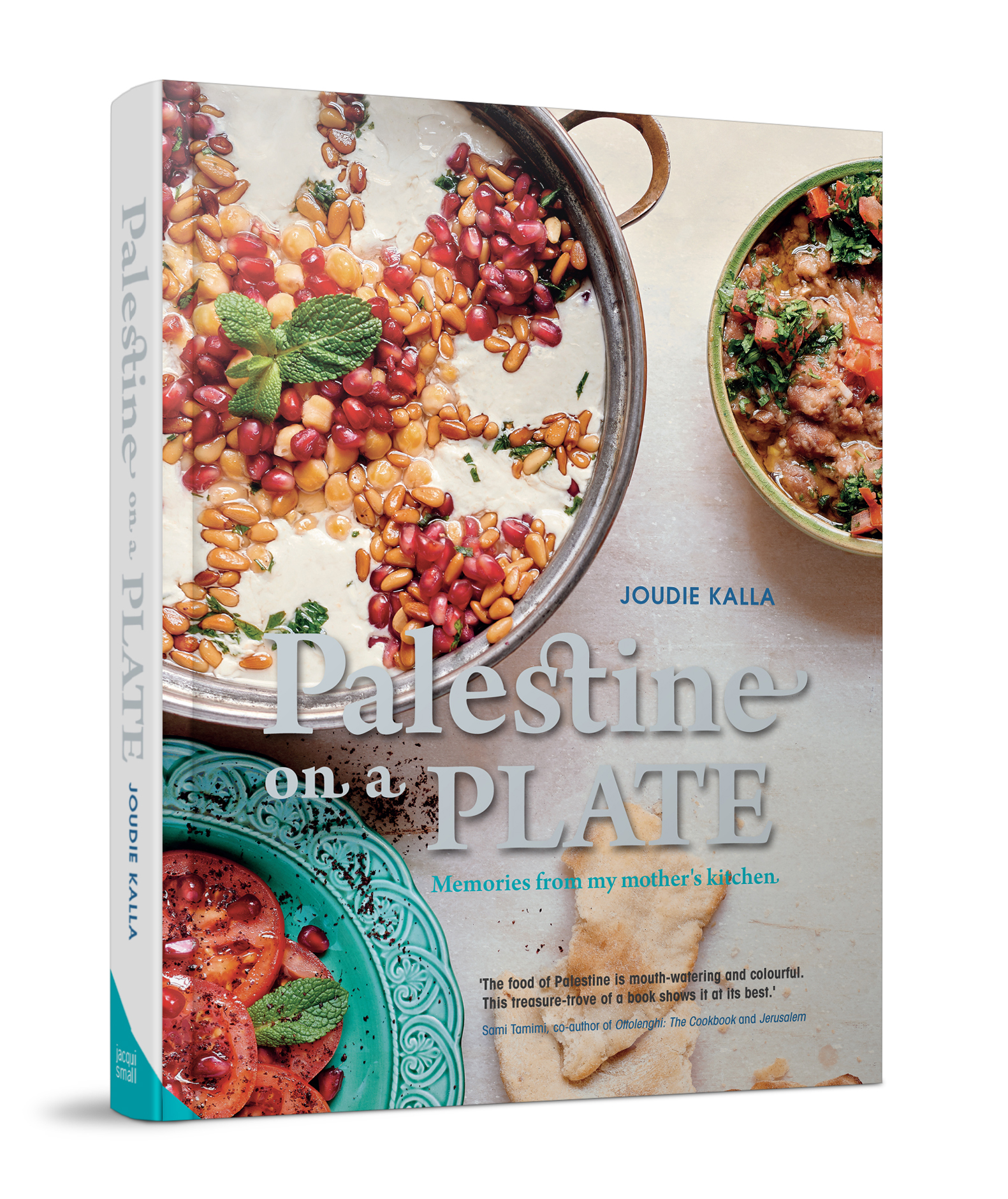palestine on a plate book cover