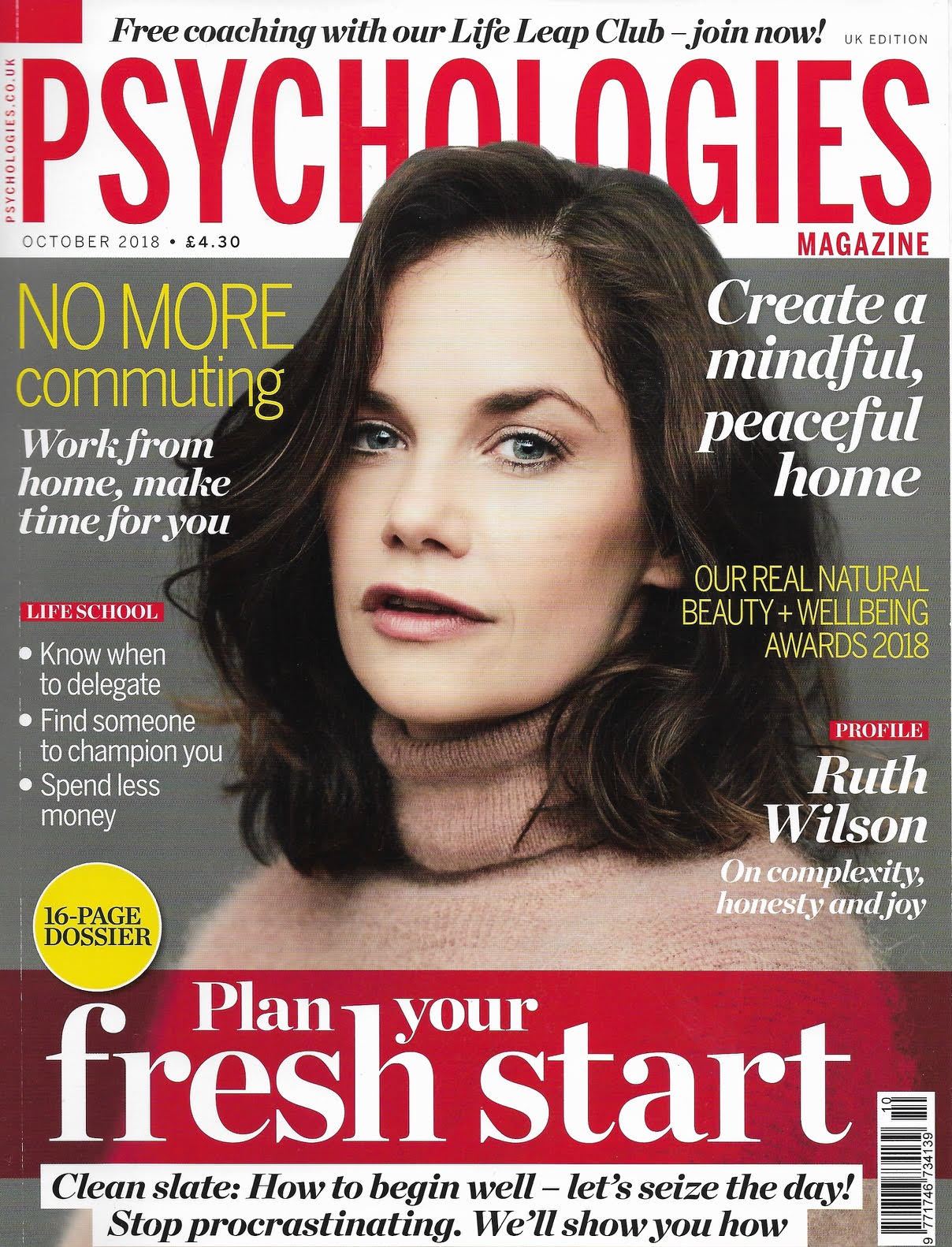 Psychologies magazine Joudie kalla