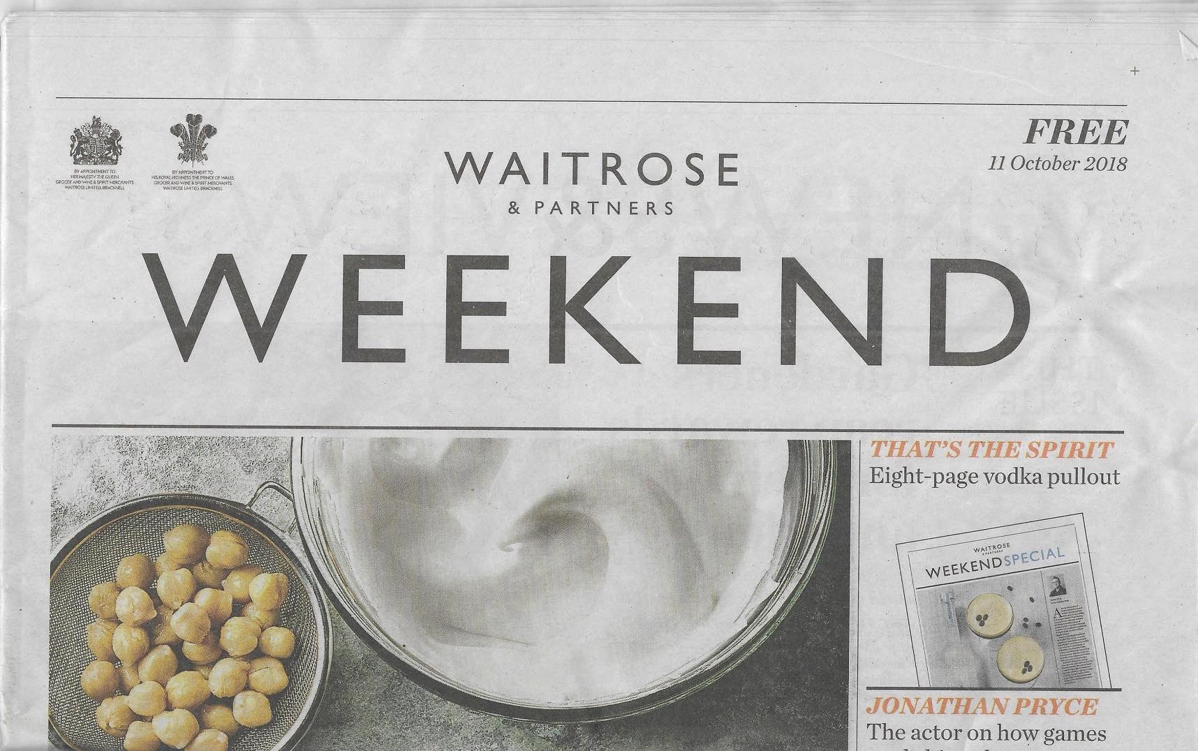 Waitrose Weekend Joudie kalla
