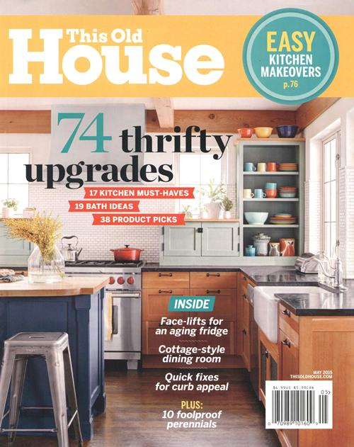 This Old House Magazine; May 2015; Page 68-104; Gaw-Mullins Residence; Arlington, VA
