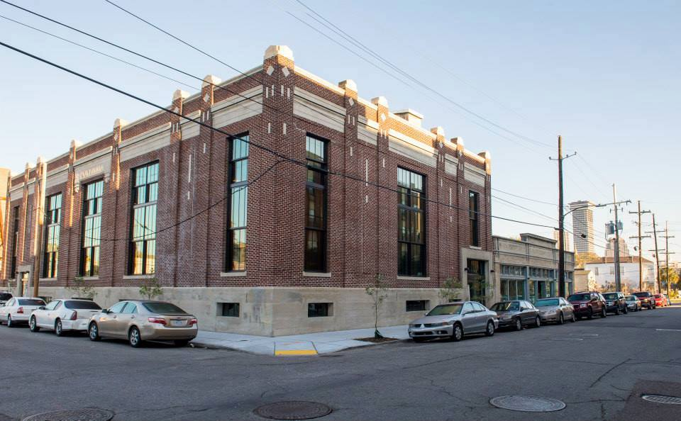 Ashé Cultural Arts Center added to their cultural campus with the renovated Power House theater (restored by Gulf Coast Housing Partnership) and gallery at 1731 Baronne.