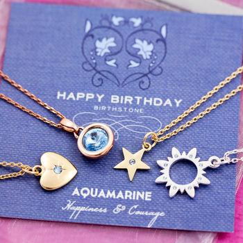 Birthstone charm by J&S Jewellery
