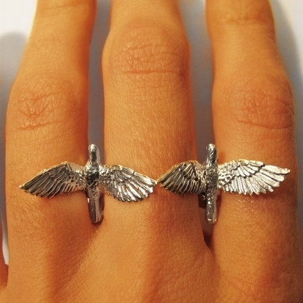 Two Birds with One Stone Ring