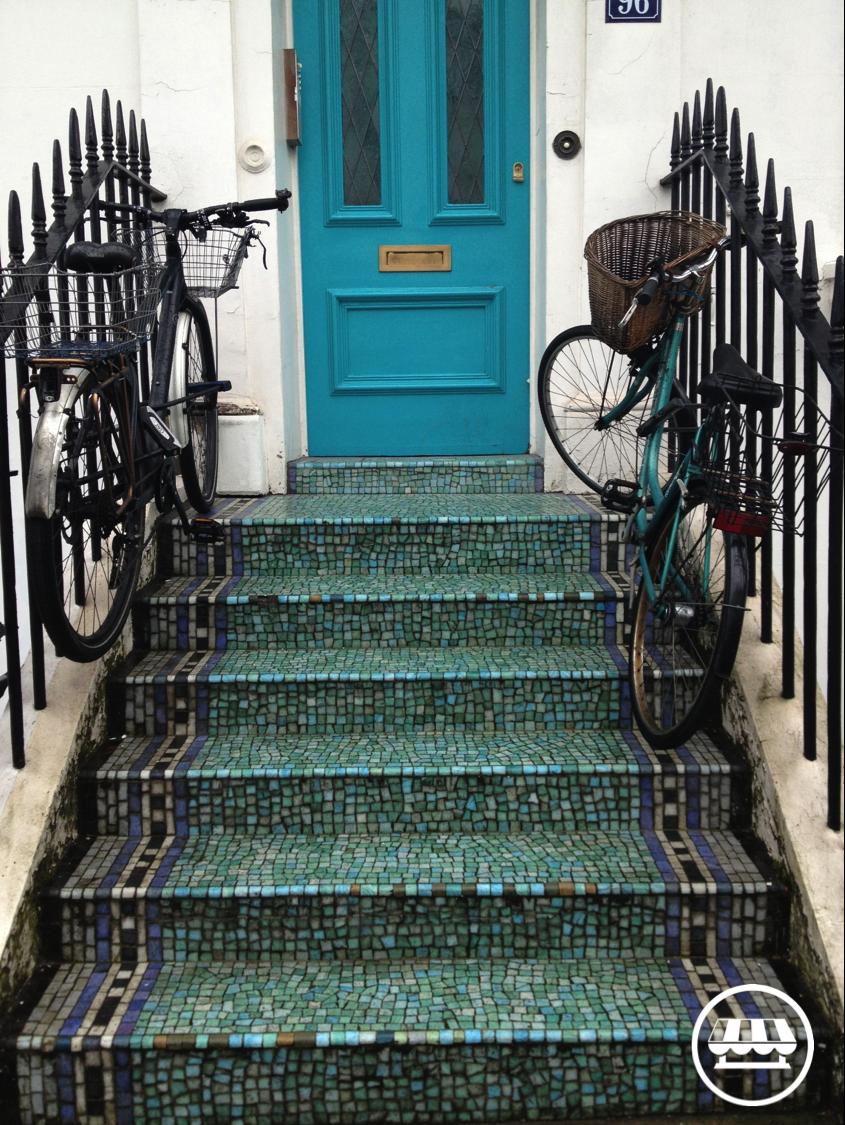 A London Door in Chelsea