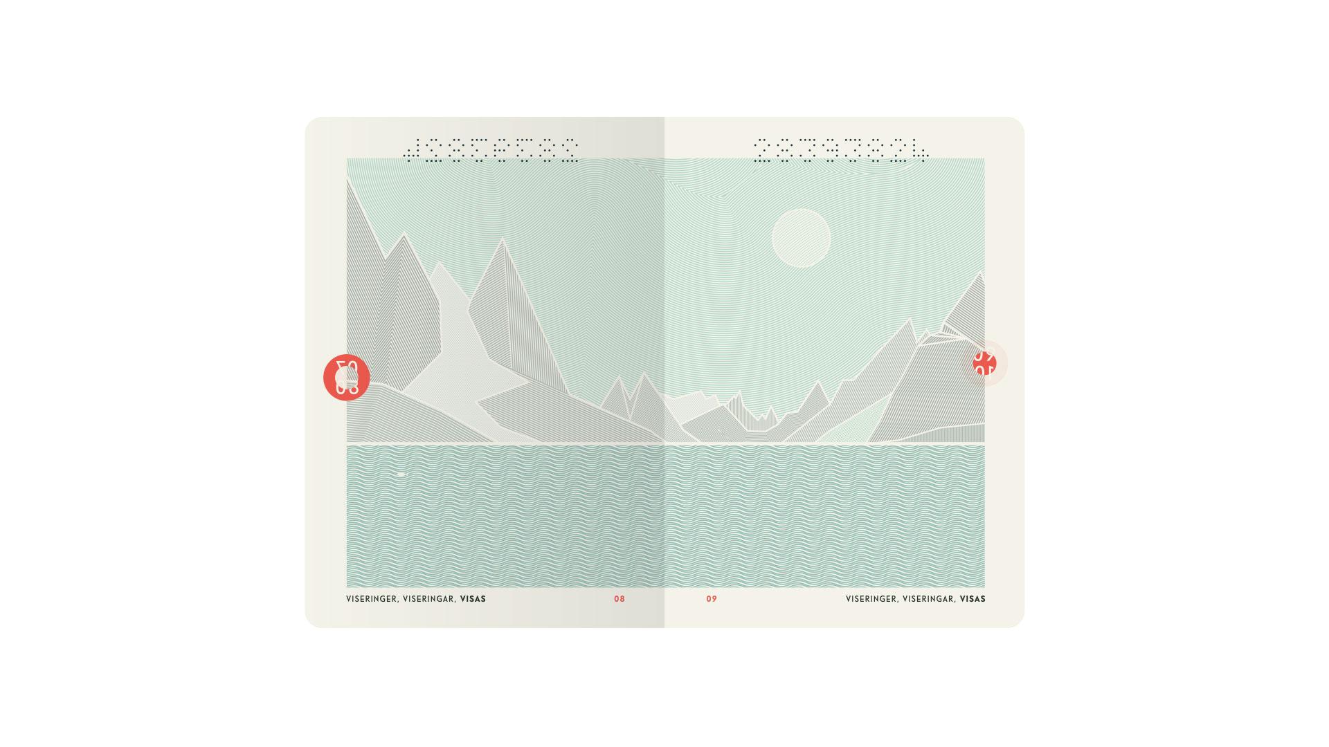 New Norwegian Passports. Courtesy of Neue Design Studio
